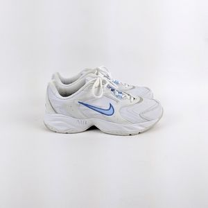 Nike | White Blue Air Max Sneaker